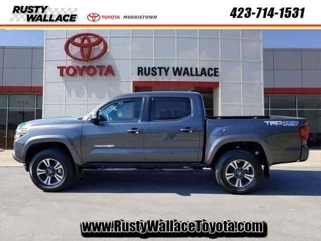 Pre-Owned 2019 Toyota Tacoma TRD Double Cab Sport 4x4 with Technology Package