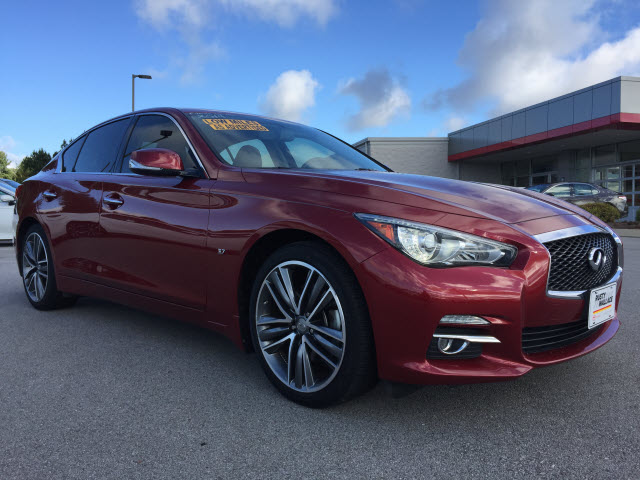Pre Owned Infiniti Q50 >> Pre Owned 2014 Infiniti Q50 Premium 4dr Sedan In Morristown P
