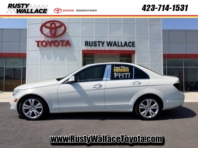 Pre-Owned 2008 Mercedes-Benz C-Class Luxury 4MATIC®