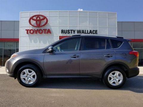 Certified Pre-Owned 2015 Toyota RAV4 BSE FWD LE 4dr SUV