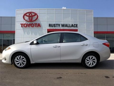 Certified Pre-Owned 2017 Toyota Corolla LE FWD LE 4dr Sedan